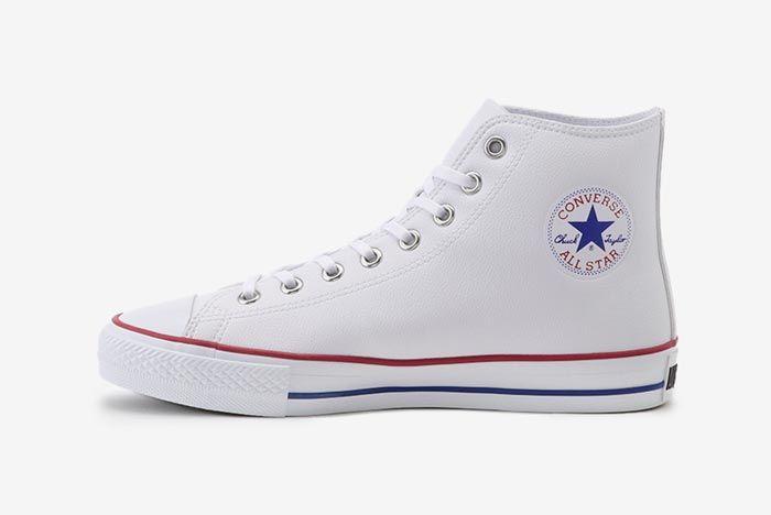 Converse All Star Golf Hi White Lateral