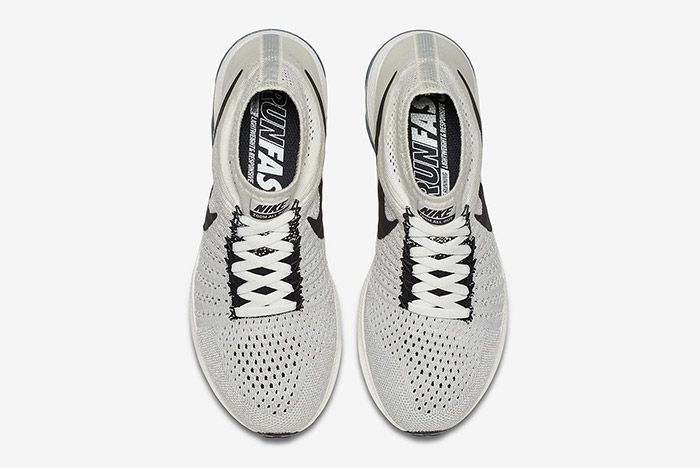 Nike Zoom All Out Flyknit Light Grey 3