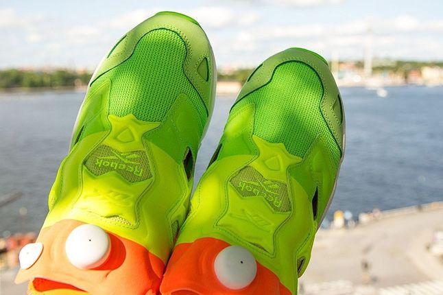 Sneakersnstuff Reebok Pump Fury Popsicle Toe Aerial