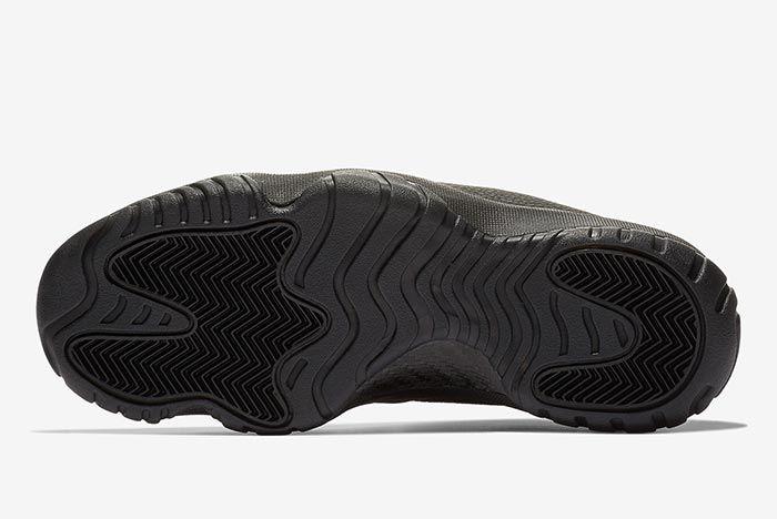 Jordan Future Triple Black Leather Outsole