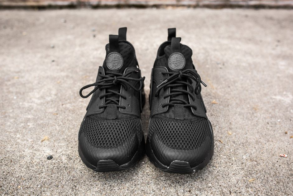 Nike Air Huarache Ultra Br Triple Black 6