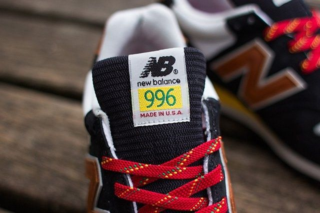 New Balance 996 Black Brown 6