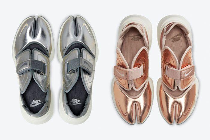 Nike Aqua Rift Silver Bronze Top
