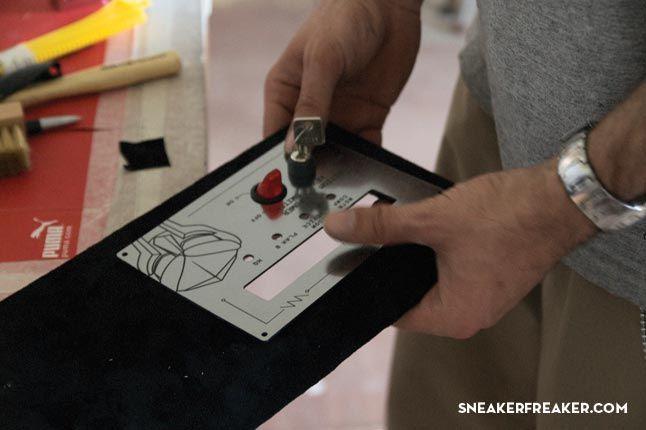 Doom Sneaker Speakers Making Of 4 1