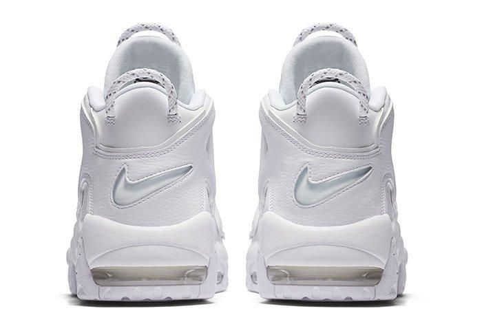 Nike Air More Uptempo Triple White 4