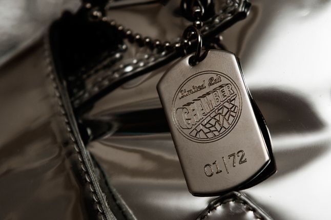 Limited Edt Chamber X Android Homme Dog Tag 1