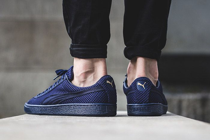 Puma Basket Tech Navy Blue 3