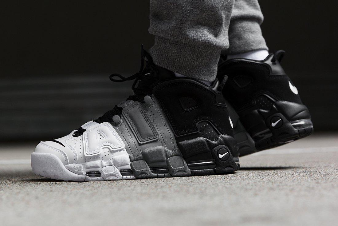 Nike Air More Uptempo Tricolour 1