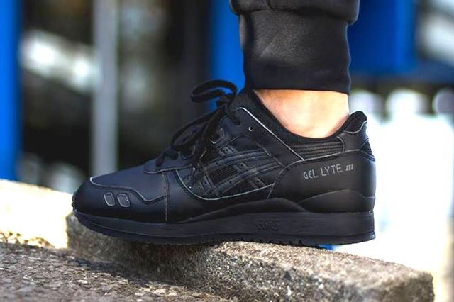 Asics Gel Lyte Iii Triple Black 2