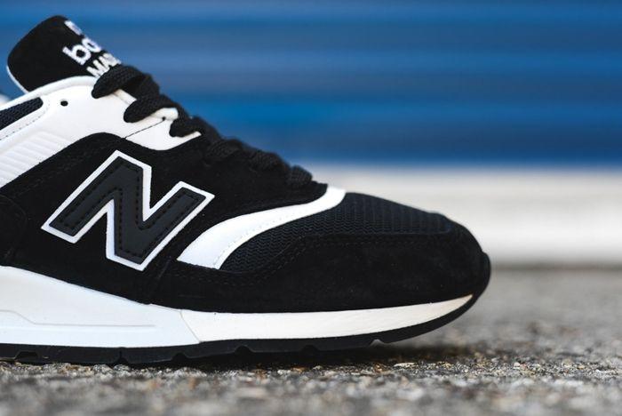 New Balance 997 Black White 2