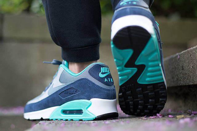 Nike Air Max 90 Blue Graphite 3