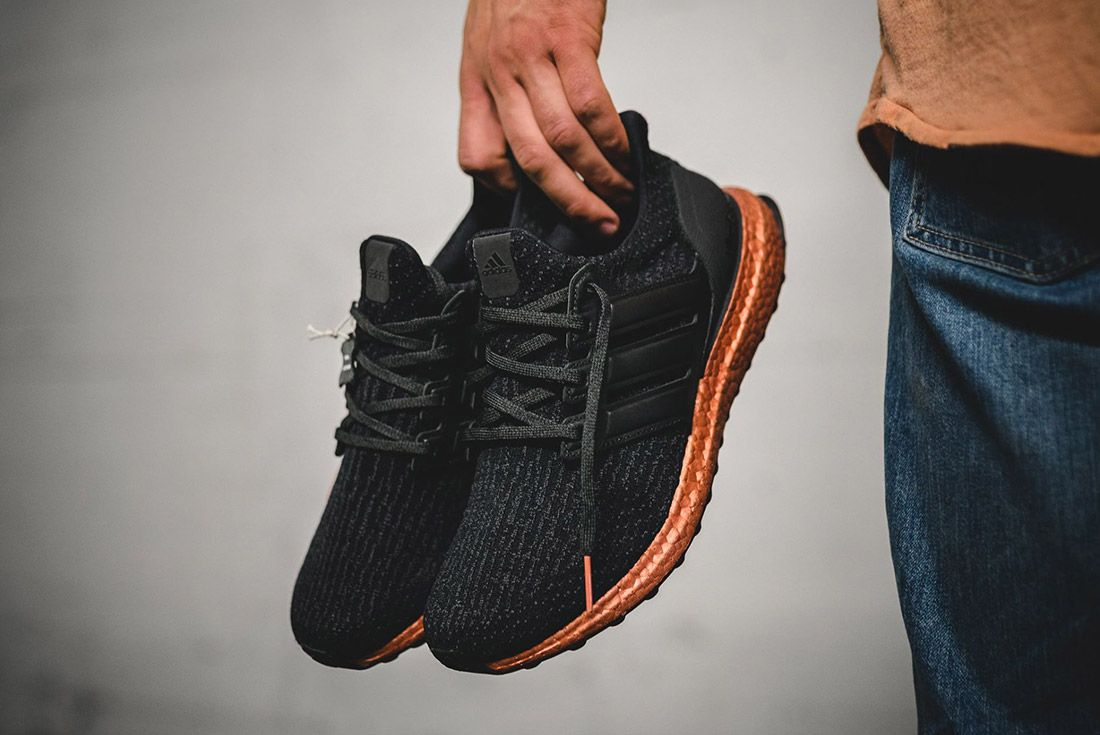 Adidas Ultra Boost Copper Tech Ruse Black 4