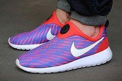 Nike Roshe Run Slip On Photo Blue Wave Thumb
