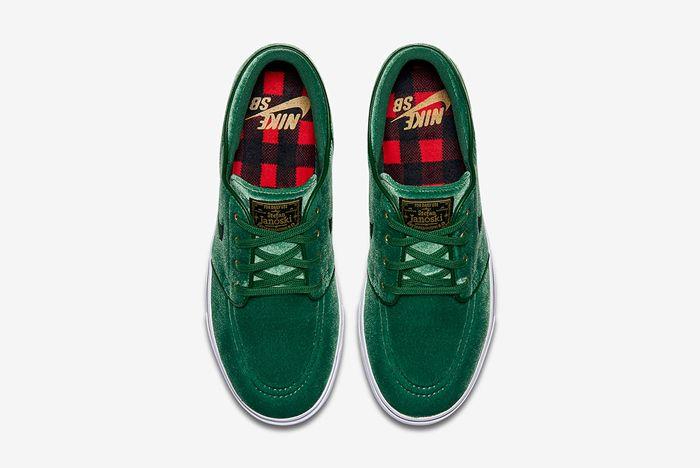 Nike Sb Zoom Stefan Janoski Green Velvet3