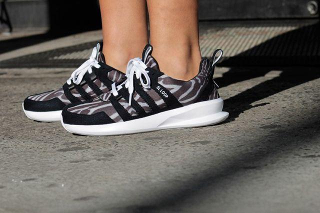 Adidas Originals Sl Loop Runner Zebra