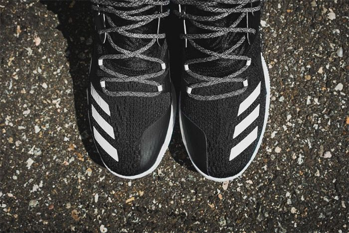 Adidas D Rose 7 Core Black White 1