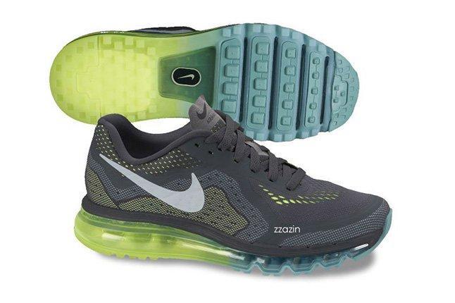 Nike Air Max 2014 Grey Blue 1