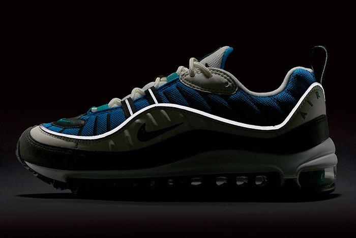 Nike Air Max 98 Blue 2