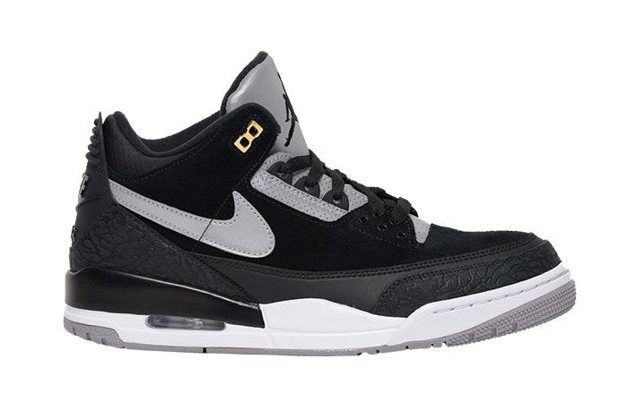 Air Jordan 3 Tinker Black Cement Gold Ck4348 007 2019 Release Date Side