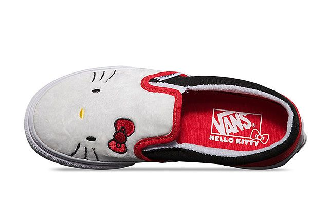Hello Kitty X Vans Summer 2014 Collection Slip On 1