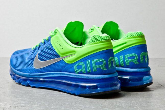 Nike Air Max Plus 2013 Blue Lime 3 1