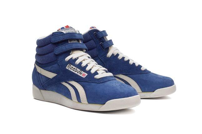 Reebok Freestylehi Vintage Blue Hero 1