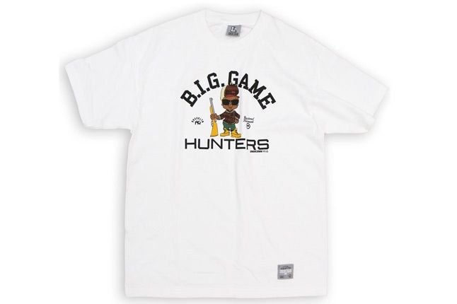 B I G Game Hunter Tee Wht 1