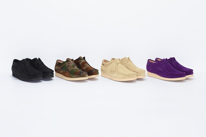 Supreme Clarks Wallabee Gore Tex Vibram Fw19 Release Date Group