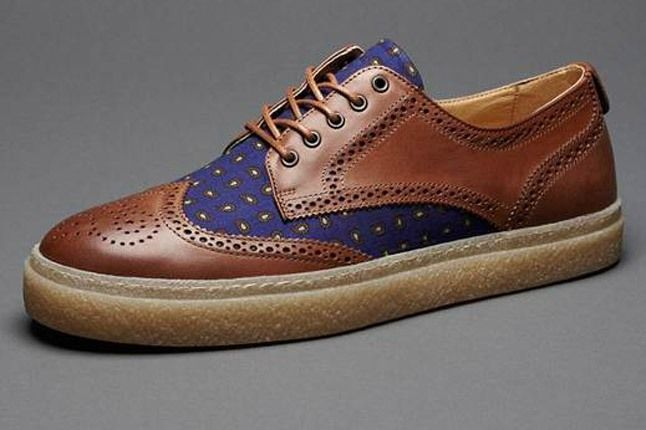 Fred Perry Drakes Shoes 1