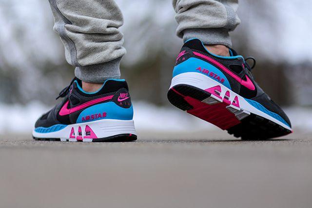 Nike Air Stab Black Teal Pink 3