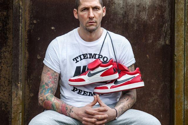 Nike Tiempo 94 Jordan Black Red