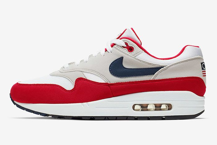 Nike Air Max 1 4Th Of July Cj4283 100 Lateral