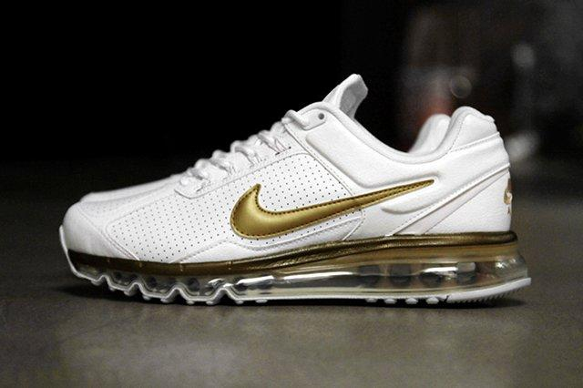 Nike Air Max 2013 Ext Leather Qs Metallic Gold 8