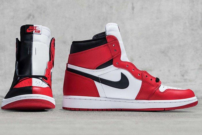 1Air Jordan 1 Homage To Home Split Sample Front