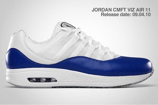 Jordan Cmft Viz Air 11 Blue 2