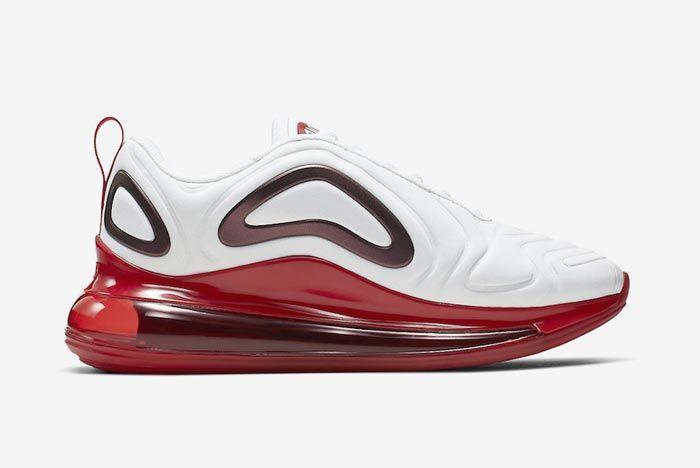 Nike Air Max 720 Womens Gym Red Medial