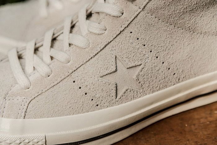 Converse One Star Mid Egret Off White 2