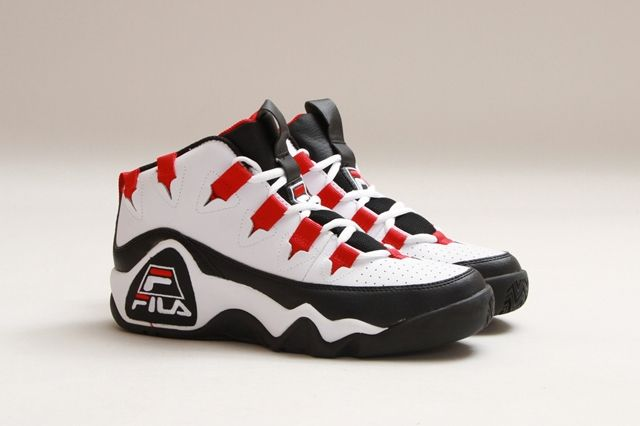Fila The 95 White Fire Red 3