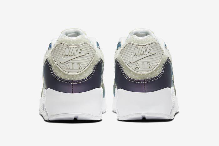 Nike Air Max 90 Multicolour Bubbles Heels