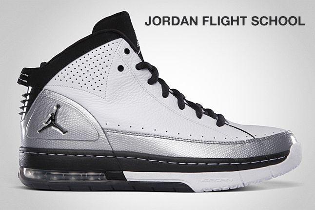 Jordan Flight School Silver 1