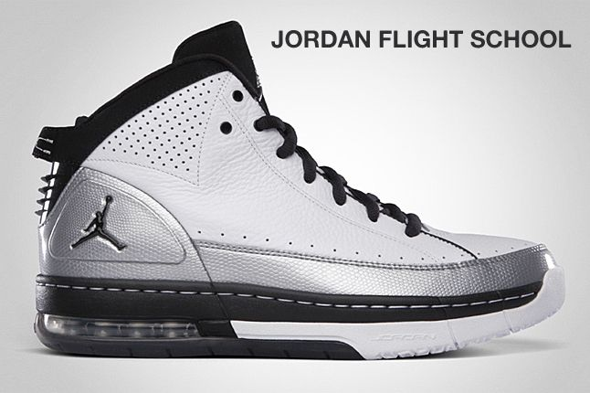 Jordan Flight School Silver 1