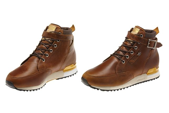 Adidas Originals Hiking Boot Brown Hero Unlaced 1