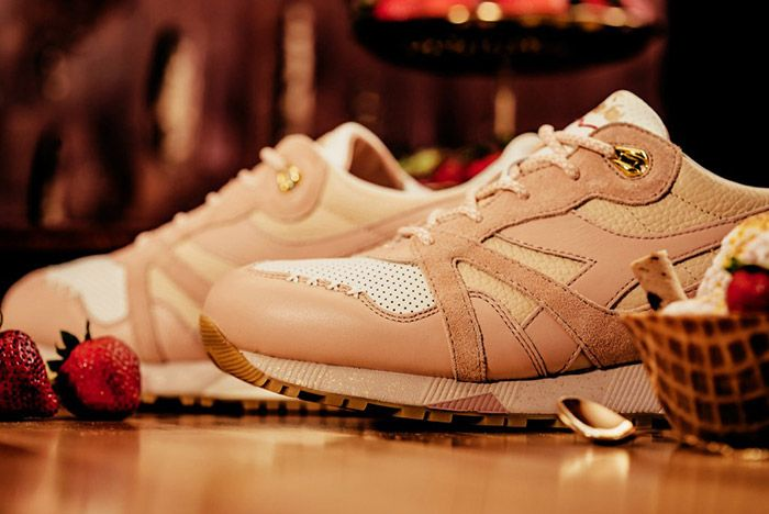 Feature Diadora N9000 Strawberry Gelato 5