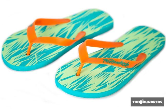 The Hundreds Jag Flip Flops 1