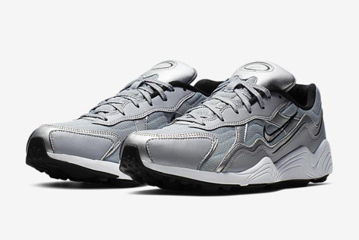 Nike Air Zoom Aplha Silver Bq8800 001 Three Quarter Shot