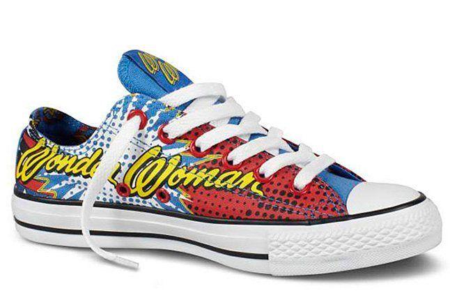 Dc Comics Converse Chuck Taylor All Star Wonder Woman 03 1