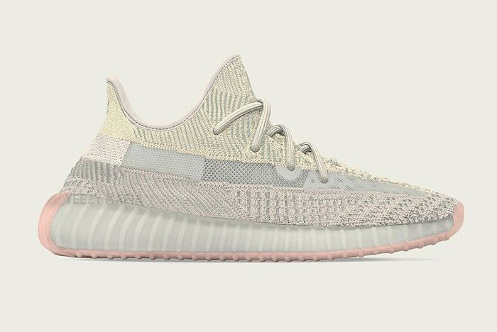 Yeezy Boost 350 V2 Citrin Side Shot