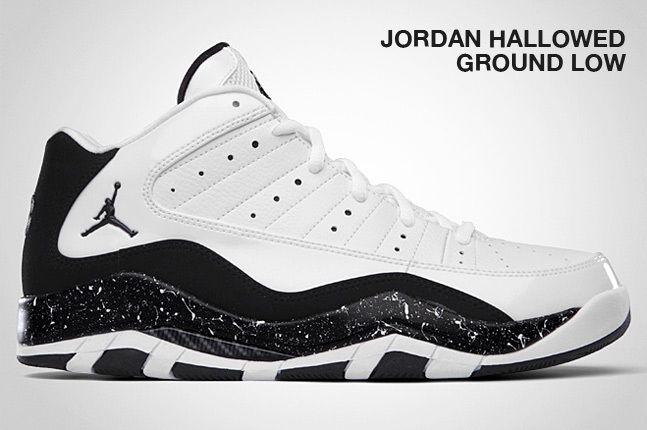 Jordan Hallowed Ground Low Black 1