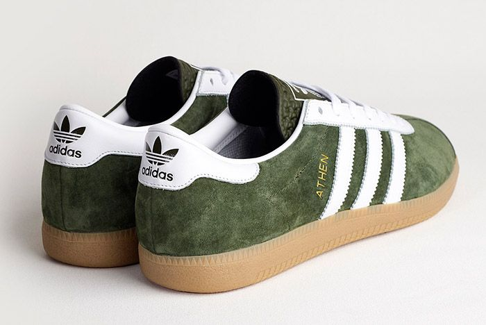 Adidas Athen Forest Green 3