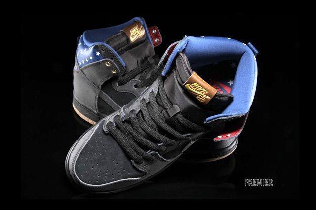 Nike Sb Dunk Hi Premium Stars 5